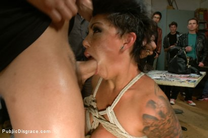 Photo number 5 from Big Titted Reality TV Star Ass Fucked in Public! shot for Public Disgrace on Kink.com. Featuring Cameron Bay , Xander Corvus and Lorelei Lee in hardcore BDSM & Fetish porn.
