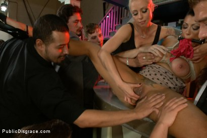 Photo number 1 from Big Titted Reality TV Star Ass Fucked in Public! shot for Public Disgrace on Kink.com. Featuring Cameron Bay , Xander Corvus and Lorelei Lee in hardcore BDSM & Fetish porn.