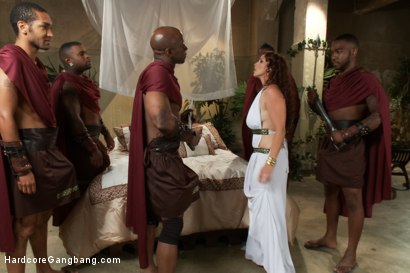 Photo number 2 from Busty Redhead in Rough Interracial Gangbang with Creampie shot for Hardcore Gangbang on Kink.com. Featuring Bella Rossi, Mickey Mod, John Johnson, Prince Yahshua, Jon Jon and Rico Strong in hardcore BDSM & Fetish porn.