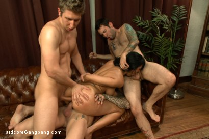 Photo number 9 from I'm Your Biggest Fan: Paparazzi Gangbang  shot for Hardcore Gangbang on Kink.com. Featuring Danny Wylde, Tommy Pistol, Owen Gray, Astral Dust, Toni Ribas and Beretta James in hardcore BDSM & Fetish porn.
