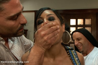 Photo number 2 from I'm Your Biggest Fan: Paparazzi Gangbang  shot for Hardcore Gangbang on Kink.com. Featuring Danny Wylde, Tommy Pistol, Owen Gray, Astral Dust, Toni Ribas and Beretta James in hardcore BDSM & Fetish porn.