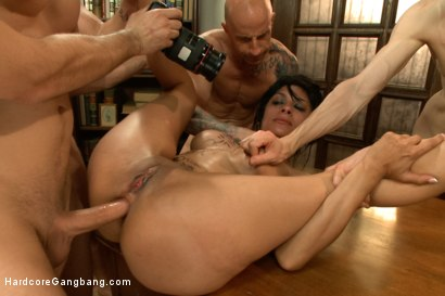 Photo number 11 from I'm Your Biggest Fan: Paparazzi Gangbang  shot for Hardcore Gangbang on Kink.com. Featuring Danny Wylde, Tommy Pistol, Owen Gray, Astral Dust, Toni Ribas and Beretta James in hardcore BDSM & Fetish porn.