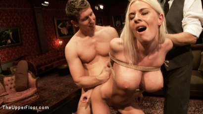 Photo number 1 from Fluffer Training shot for The Upper Floor on Kink.com. Featuring Riley Evans, Danny Wylde and Alani Pi in hardcore BDSM & Fetish porn.