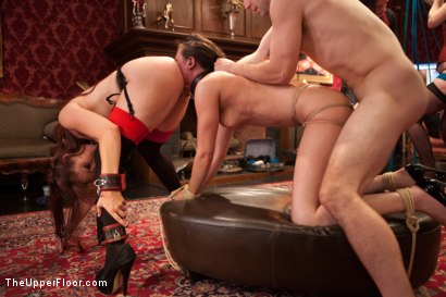 Photo number 12 from Gorgeous Anal Sex Slave Petitions to Serve the House shot for The Upper Floor on Kink.com. Featuring Casey Calvert , Maestro and Bella Rossi in hardcore BDSM & Fetish porn.