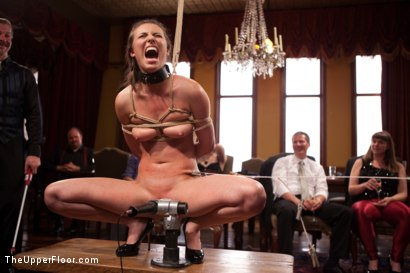 Photo number 1 from Gorgeous Anal Sex Slave Petitions to Serve the House shot for The Upper Floor on Kink.com. Featuring Casey Calvert , Maestro and Bella Rossi in hardcore BDSM & Fetish porn.