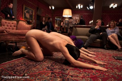 Photo number 3 from Anal Acrobat Proxy Page shows House Slave How To Take it in the Ass shot for The Upper Floor on Kink.com. Featuring Proxy Paige, Owen Gray and Coral Aorta in hardcore BDSM & Fetish porn.