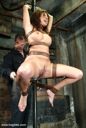 Photo number 4 from Sativa Rose shot for Hogtied on Kink.com. Featuring Sativa Rose in hardcore BDSM & Fetish porn.