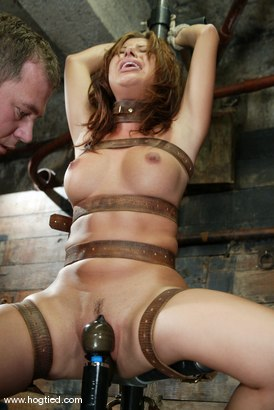 Photo number 6 from Sativa Rose shot for Hogtied on Kink.com. Featuring Sativa Rose in hardcore BDSM & Fetish porn.