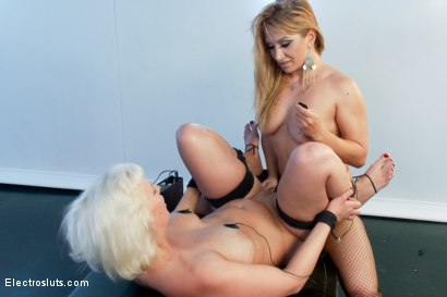 Photo number 9 from Blonde Bubble Butt Anal Electro Fisting! shot for Electro Sluts on Kink.com. Featuring Lea Lexis and Cherry Torn in hardcore BDSM & Fetish porn.