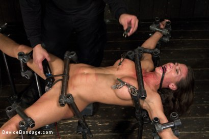 Photo number 8 from Beauty and the Beast shot for Device Bondage on Kink.com. Featuring Ariel X and Orlando in hardcore BDSM & Fetish porn.
