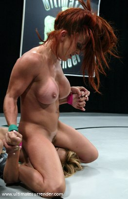 Photo number 14 from WELCOME TO THE START OF SEASON THREE!<BR>Shannon Kelly(0-0) vs Kat (0-0) shot for Ultimate Surrender on Kink.com. Featuring Shannon Kelly and Kat in hardcore BDSM & Fetish porn.
