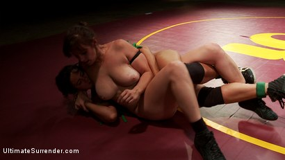 Photo number 4 from SV S10 9th meets 5th. Two Voluptuous Welterweight Clash on the mats shot for Ultimate Surrender on Kink.com. Featuring Bella Rossi and Penny Barber in hardcore BDSM & Fetish porn.
