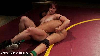 Photo number 5 from SV S10 9th meets 5th. Two Voluptuous Welterweight Clash on the mats shot for Ultimate Surrender on Kink.com. Featuring Bella Rossi and Penny Barber in hardcore BDSM & Fetish porn.