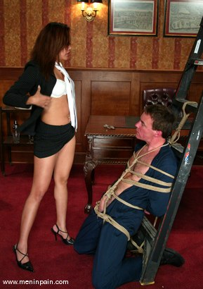 Photo number 4 from Wild Bill and Annie Cruz shot for Men In Pain on Kink.com. Featuring Wild Bill and Annie Cruz in hardcore BDSM & Fetish porn.