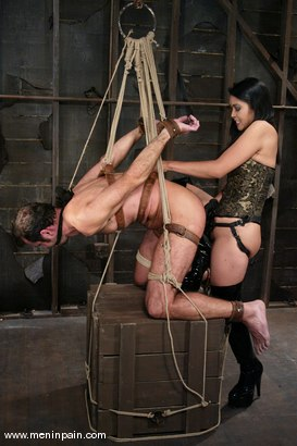Photo number 6 from Mika Tan and totaleurosex shot for Men In Pain on Kink.com. Featuring Mika Tan and totaleurosex in hardcore BDSM & Fetish porn.