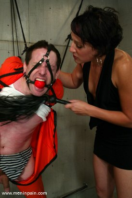 Photo number 2 from Dylan Ryan and Judas shot for Men In Pain on Kink.com. Featuring Dylan Ryan and Judass in hardcore BDSM & Fetish porn.