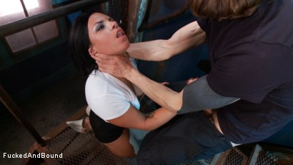 Photo number 2 from In Too Deep shot for Fucked and Bound on Kink.com. Featuring Danica Merci and Owen Gray in hardcore BDSM & Fetish porn.