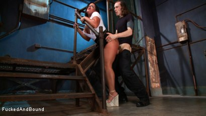 Photo number 11 from In Too Deep shot for Fucked and Bound on Kink.com. Featuring Danica Merci and Owen Gray in hardcore BDSM & Fetish porn.