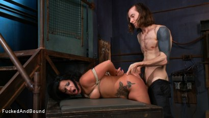 Photo number 14 from In Too Deep shot for Fucked and Bound on Kink.com. Featuring Danica Merci and Owen Gray in hardcore BDSM & Fetish porn.