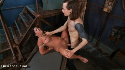 Photo number 16 from In Too Deep shot for Fucked and Bound on Kink.com. Featuring Danica Merci and Owen Gray in hardcore BDSM & Fetish porn.