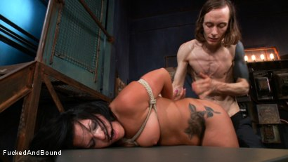 Photo number 18 from In Too Deep shot for Fucked and Bound on Kink.com. Featuring Danica Merci and Owen Gray in hardcore BDSM & Fetish porn.