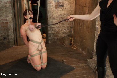 Photo number 10 from Bella Rossi Back For More! shot for Hogtied on Kink.com. Featuring Bella Rossi in hardcore BDSM & Fetish porn.