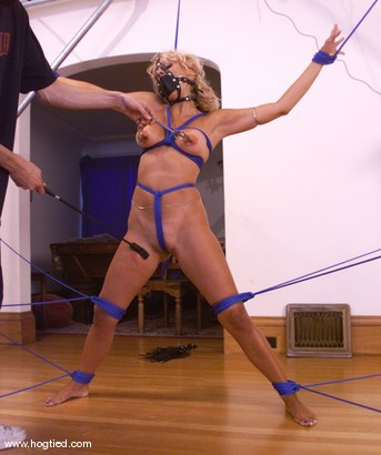 Photo number 14 from Stacy Burke shot for Hogtied on Kink.com. Featuring Stacy Burke in hardcore BDSM & Fetish porn.