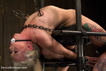 Photo number 3 from Monumental Suffering shot for Device Bondage on Kink.com. Featuring Sarah Jane Ceylon and Orlando in hardcore BDSM & Fetish porn.