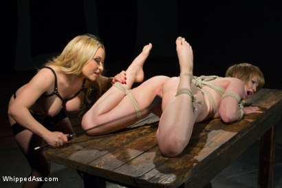 Photo number 5 from The interrogation: will she be broken? shot for Whipped Ass on Kink.com. Featuring Aiden Starr and Alani Pi in hardcore BDSM & Fetish porn.