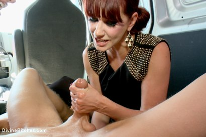 Photo number 12 from Construction worker ass-fucked and humiliated in the back of a van. shot for Divine Bitches on Kink.com. Featuring Maitresse Madeline Marlowe , Gia DiMarco and Alex Adams in hardcore BDSM & Fetish porn.
