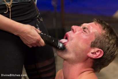 Photo number 13 from Click, Pay, Stroke! shot for Divine Bitches on Kink.com. Featuring Maitresse Madeline Marlowe  and John Jammen in hardcore BDSM & Fetish porn.