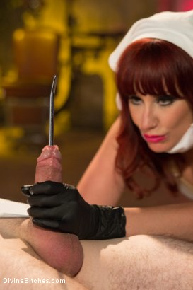 Photo number 11 from Una Decisione Suono  shot for Divine Bitches on Kink.com. Featuring Maitresse Madeline Marlowe and Tony Orlando in hardcore BDSM & Fetish porn.