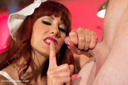 Photo number 12 from Una Decisione Suono  shot for Divine Bitches on Kink.com. Featuring Maitresse Madeline Marlowe  and Tony Orlando in hardcore BDSM & Fetish porn.