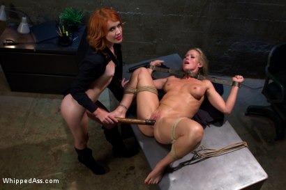 Photo number 4 from MILF prostitute punished & Dp'd by smoking hot redhead rookie cop! shot for Whipped Ass on Kink.com. Featuring Elle Alexandra and Simone Sonay in hardcore BDSM & Fetish porn.