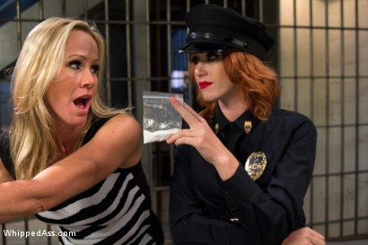 Photo number 1 from MILF prostitute punished & Dp'd by smoking hot redhead rookie cop! shot for Whipped Ass on Kink.com. Featuring Elle Alexandra and Simone Sonay in hardcore BDSM & Fetish porn.