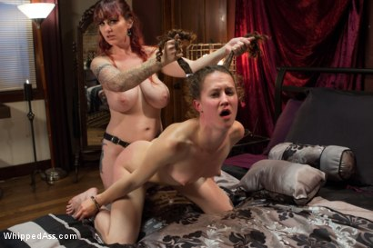 Photo number 10 from A Gift Of Submission shot for Whipped Ass on Kink.com. Featuring Bonnie Day  and Mz Berlin in hardcore BDSM & Fetish porn.