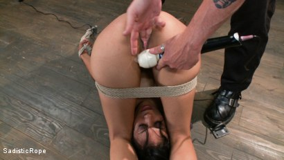 Photo number 3 from Pussy Punishment shot for Sadistic Rope on Kink.com. Featuring Beretta James in hardcore BDSM & Fetish porn.