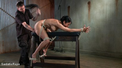 Photo number 6 from Pussy Punishment shot for Sadistic Rope on Kink.com. Featuring Beretta James in hardcore BDSM & Fetish porn.