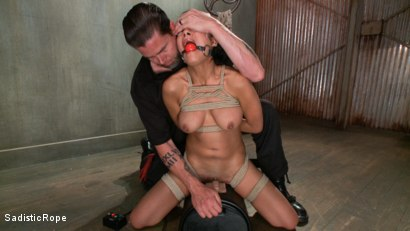 Photo number 9 from Pussy Punishment shot for Sadistic Rope on Kink.com. Featuring Beretta James in hardcore BDSM & Fetish porn.