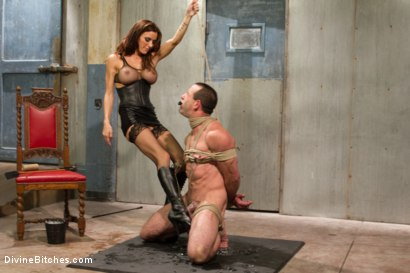 Photo number 6 from Sex and Cruelty shot for Divine Bitches on Kink.com. Featuring Gia DiMarco and Jason Miller in hardcore BDSM & Fetish porn.