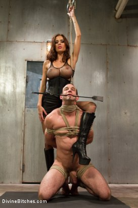 Photo number 4 from Sex and Cruelty shot for Divine Bitches on Kink.com. Featuring Gia DiMarco and Jason Miller in hardcore BDSM & Fetish porn.