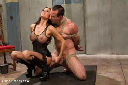 Photo number 3 from Sex and Cruelty shot for Divine Bitches on Kink.com. Featuring Gia DiMarco and Jason Miller in hardcore BDSM & Fetish porn.