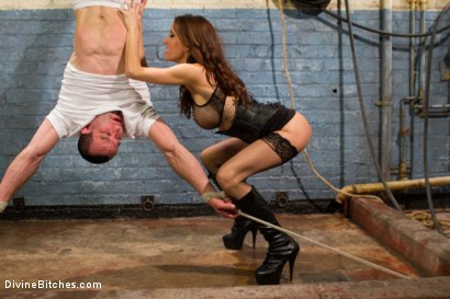Photo number 15 from Sex and Cruelty shot for Divine Bitches on Kink.com. Featuring Gia DiMarco and Jason Miller in hardcore BDSM & Fetish porn.