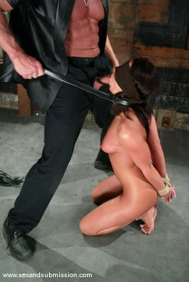 Photo number 6 from Lee Stone and Sandra Romain shot for Sex And Submission on Kink.com. Featuring Lee Stone and Sandra Romain in hardcore BDSM & Fetish porn.