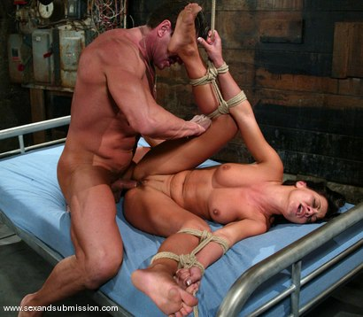 Photo number 12 from Lee Stone and Sandra Romain shot for Sex And Submission on Kink.com. Featuring Lee Stone and Sandra Romain in hardcore BDSM & Fetish porn.