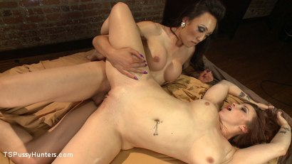 Photo number 6 from Hey Neighbour, Lend me some Sugar. Just stick you cock in it first shot for TS Pussy Hunters on Kink.com. Featuring Venus Lux and Bella Rossi in hardcore BDSM & Fetish porn.