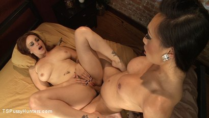Photo number 10 from Hey Neighbour, Lend me some Sugar. Just stick you cock in it first shot for TS Pussy Hunters on Kink.com. Featuring Venus Lux and Bella Rossi in hardcore BDSM & Fetish porn.