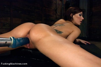Photo number 14 from The Girl Next Door Squirts - Power Babe Gia DiMarco is back w/Machines shot for Fucking Machines on Kink.com. Featuring Gia DiMarco in hardcore BDSM & Fetish porn.