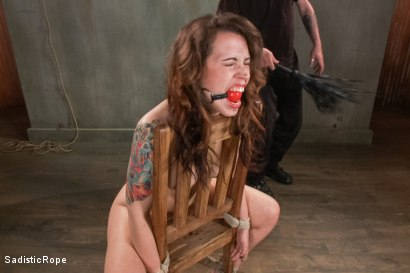Photo number 2 from Cruel and Unusual Punishment shot for Sadistic Rope on Kink.com. Featuring Elizabeth Thorn in hardcore BDSM & Fetish porn.