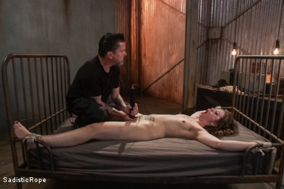Photo number 12 from Cruel and Unusual Punishment shot for Sadistic Rope on Kink.com. Featuring Elizabeth Thorn in hardcore BDSM & Fetish porn.